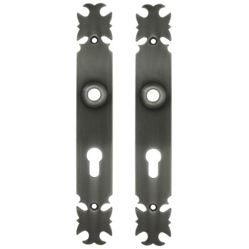 Plaques Armorique longueur 28,5 cm en fer patiné