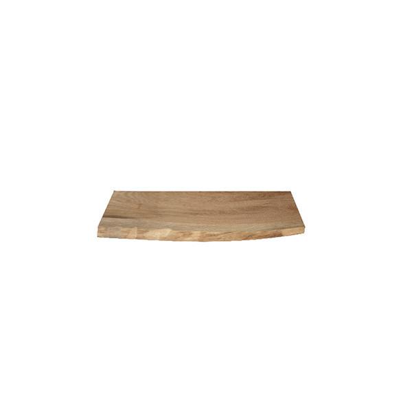 Tablette en chêne massif (Authentique) 400 mm x 190 mm