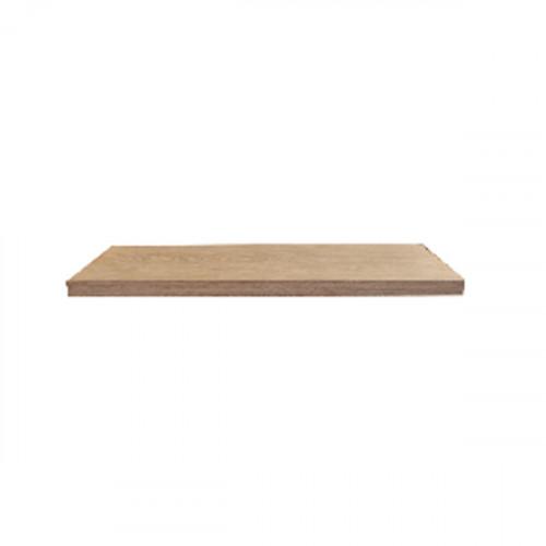 Tablette en chêne massif ( standard ) 400 x 100 mm