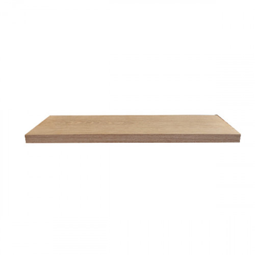 Tablette en chêne massif ( standard ) 600 x 100 mm