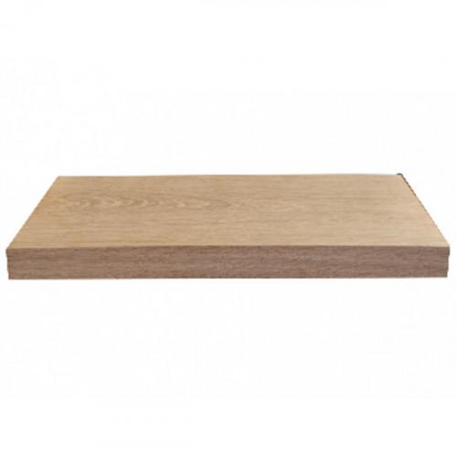 Tablette en chêne massif ( standard ) 600 x 190 mm