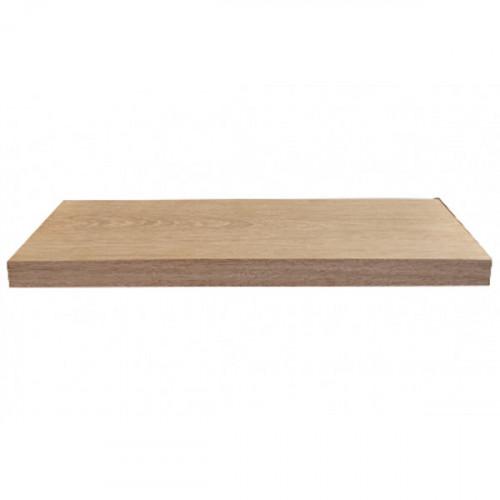 Tablette en chêne massif ( standard ) 800 x 190 mm
