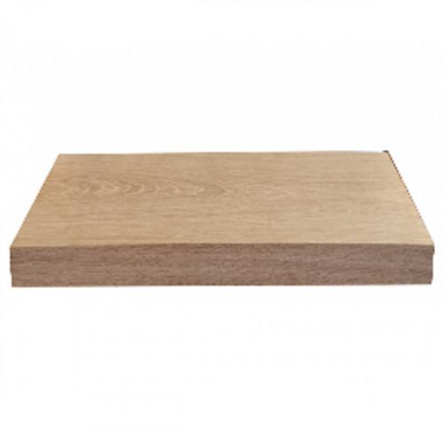 Tablette en chêne massif ( standard ) 400 x 190 mm