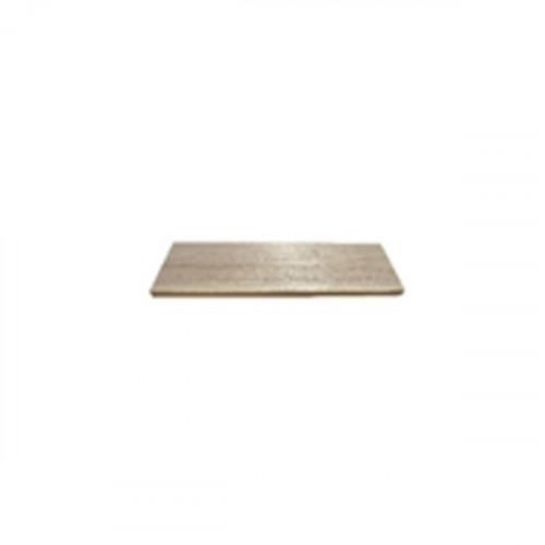 Tablette en bois de peuplier 400 mm x 190 mm