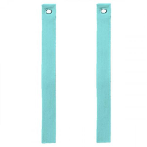 Sangle tissus turquoise pour tablettes de 90 à 250 mm