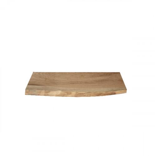 Tablette en chêne massif (Authentique) 600 mm x 100 mm